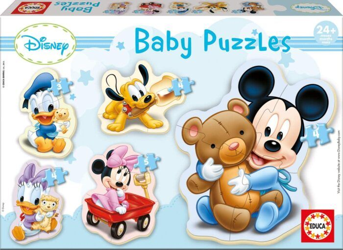 Educa - Baby Puzzles-infantil Baby Mickey