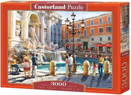 Castorland The Trevi Fountain Puzzle 3000 3000