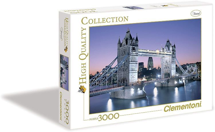 Clementoni -Tower Bridge London Puzzle 3000 Piezas