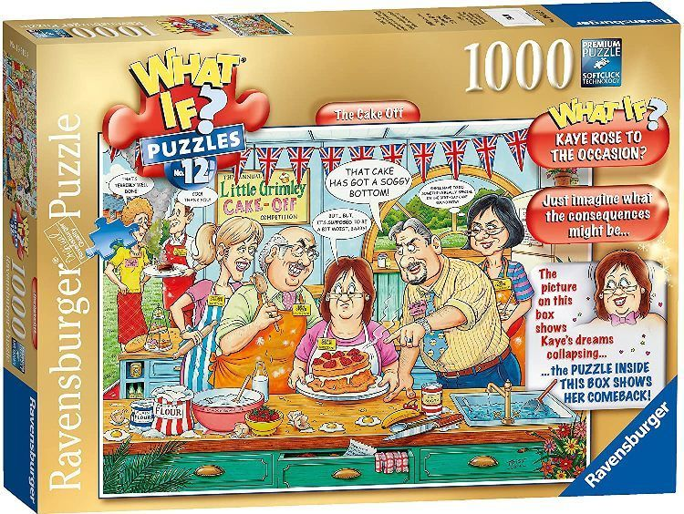 Ravensburger What If No.12 The Cake Off Jigsaw Puzzle